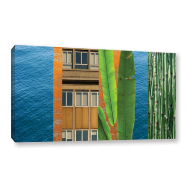 Brushstone Mixed Industry III Gallery Wrapped Canvas Wall Art