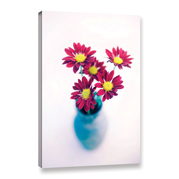 Brushstone Modern Flowers Gallery Wrapped Canvas Wall Art