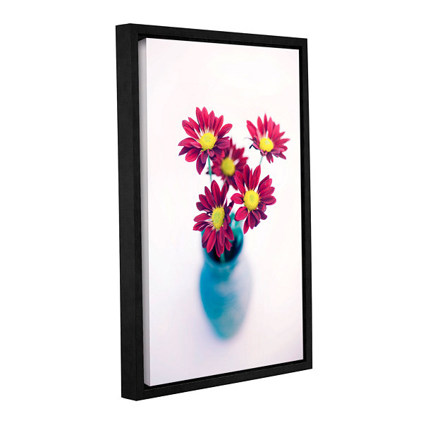Brushstone Modern Flowers Gallery Wrapped Floater-Framed Canvas Wall Art