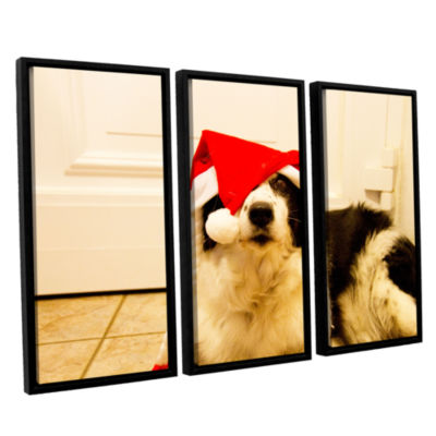 Brushstone Mollysecondedit 3-pc. Floater Framed Canvas Wall Art