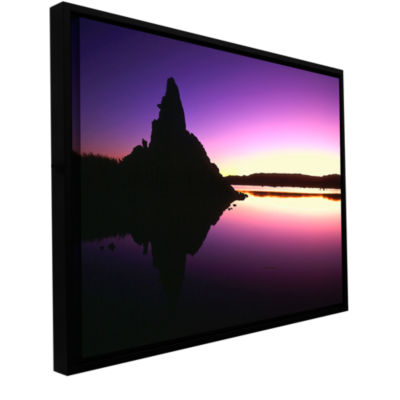 Brushstone Mono Lake Dawn Gallery Wrapped Floater-Framed Canvas Wall Art