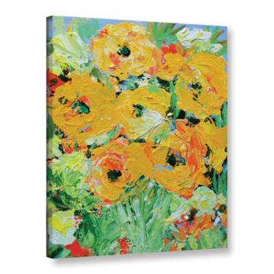 Brushstone Monsoon Garden Gallery Wrapped Canvas Wall Art