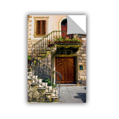 Brushstone Montalcino Entry Removable Wall Decal