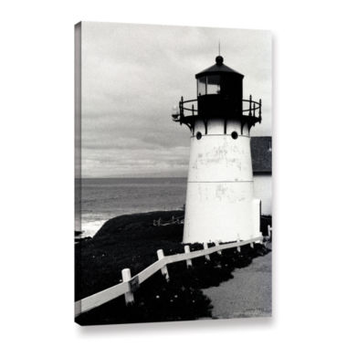 Brushstone Montara Lighthouse Gallery Wrapped Canvas Wall Art
