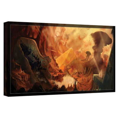 Brushstone Monuments Of Mars Gallery Wrapped Canvas Wall Art