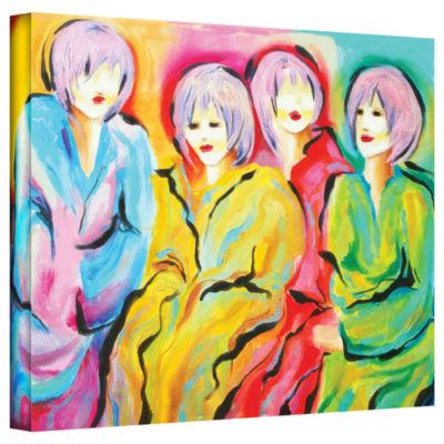 Brushstone Mood Swings Gallery Wrapped Canvas WallArt