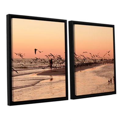Brushstone More 2-pc. Floater Framed Canvas Wall Art