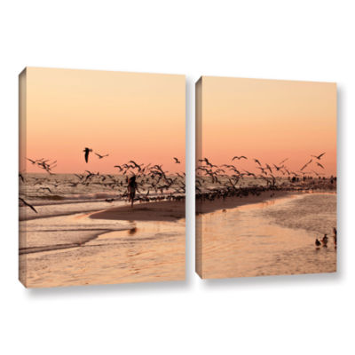 Brushstone More 2-pc. Gallery Wrapped Canvas WallArt