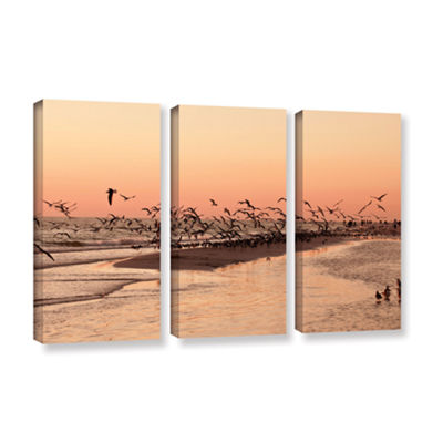 Brushstone More 3-pc. Gallery Wrapped Canvas WallArt