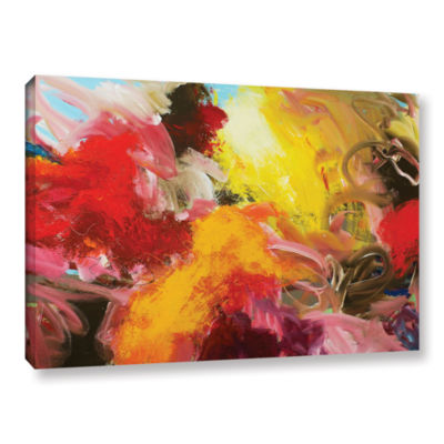 Brushstone Morning Burst Gallery Wrapped Canvas Wall Art