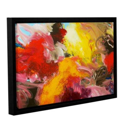 Brushstone Morning Burst Gallery Wrapped Floater-Framed Canvas Wall Art