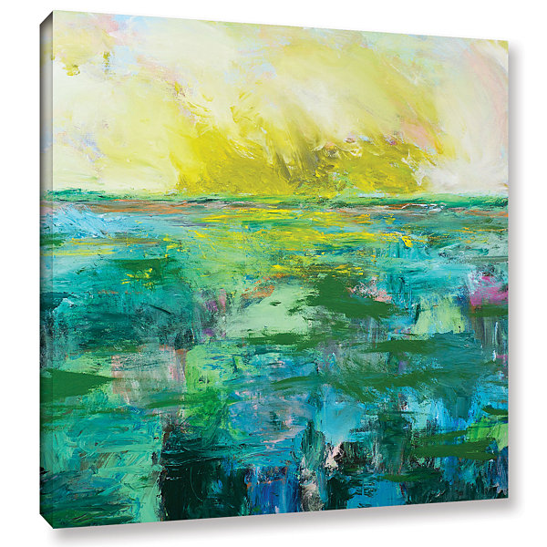 Brushstone Morning Dew Gallery Wrapped Canvas WallArt