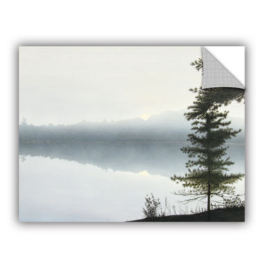 Brushstone Morning Fog Hires Removable Wall Decal