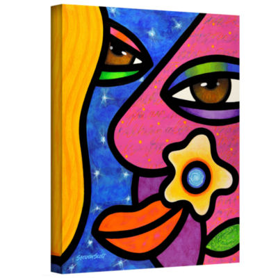 Brushstone Morning Gloria Gallery Wrapped Canvas Wall Art