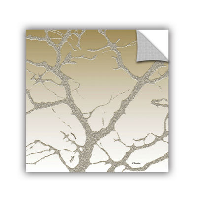 Brushstone Morning Light On Tree Removable Wall Decal