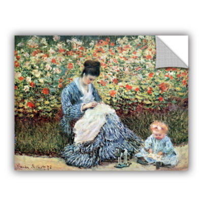 Brushstone Mother And Child (034) Removable Wall Decal