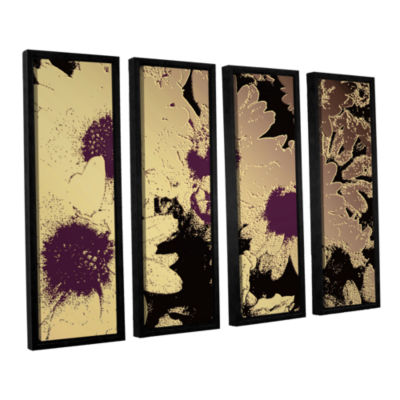Brushstone Mother's Day Revisited 4-pc. Floater Framed Canvas Wall Art