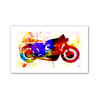 Brushstone Moto III Canvas Wall Art