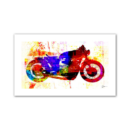 Brushstone Moto III Canvas Wall Art