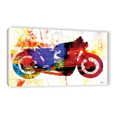 Brushstone Moto III Gallery Wrapped Canvas Wall Art