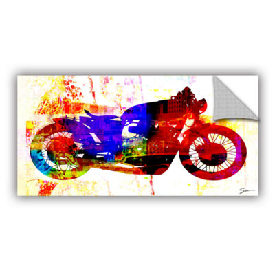 Brushstone Moto III Removable Wall Decal