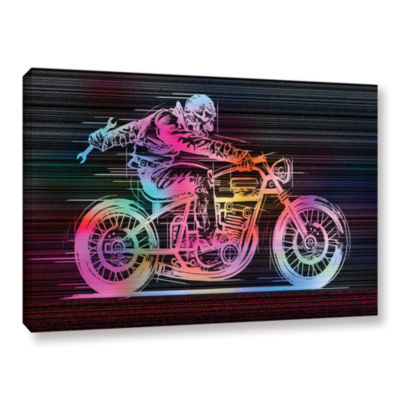 Brushstone Moto IV Gallery Wrapped Canvas Wall Art