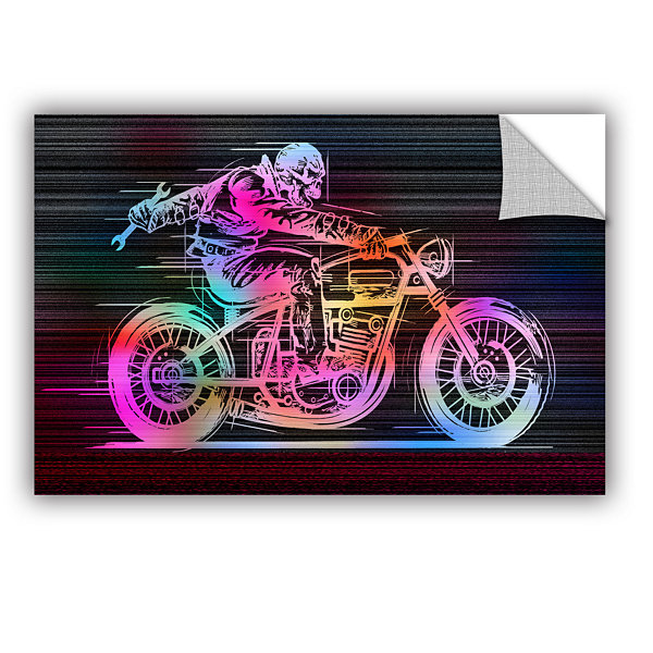 Brushstone Moto IV Removable Wall Decal