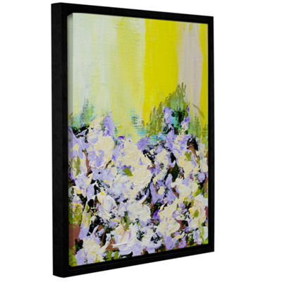 Brushstone Mottisfont Abbey Garden Gallery WrappedFloater-Framed Canvas Wall Art