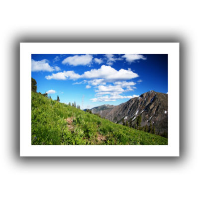 Brushstone Mountain Meadow Canvas Wall Art