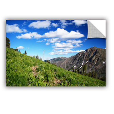 Brushstone Mountain Meadow Removable Wall Decal
