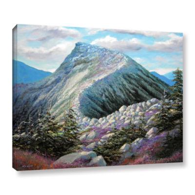 Brushstone Mountain Ridge Gallery Wrapped Canvas Wall Art