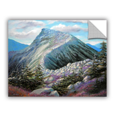 Brushstone Mountain Ridge Removable Wall Decal