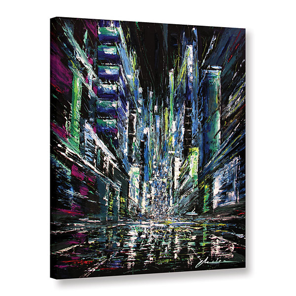 Brushstone Moving Forward Gallery Wrapped Canvas Wall Art