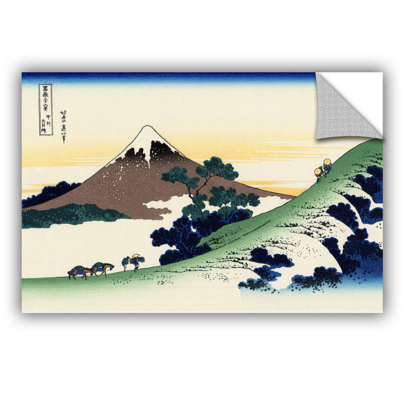 Brushstone Mt Fuji In The Sunset Removable Wall Decal