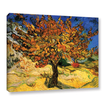 Brushstone Mulberry Tree Gallery Wrapped Canvas Wall Art