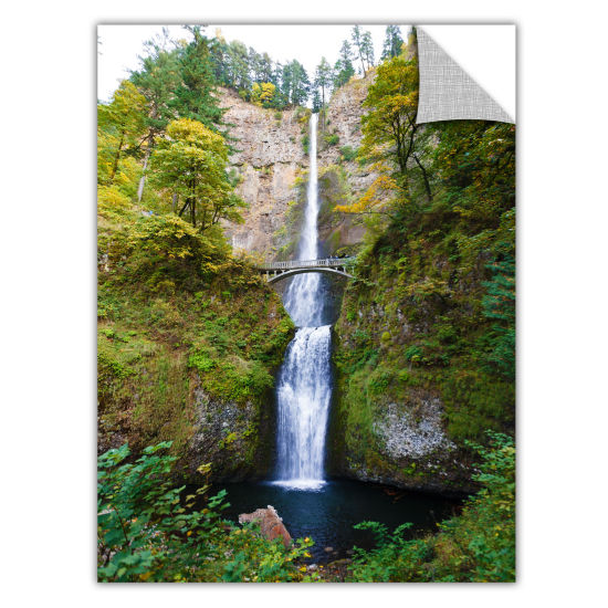 Brushstone Multnomah Falls Removable Wall Decal