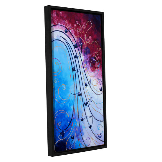 Brushstone Music Gallery Wrapped Floater-Framed Canvas Wall Art