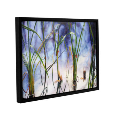 Brushstone Mystic Pond Gallery Wrapped Floater-Framed Canvas Wall Art