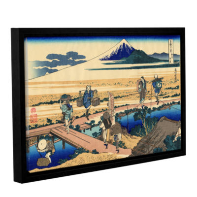 Brushstone Nakahara In Sagami Province Gallery Wrapped Floater-Framed Canvas Wall Art