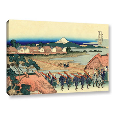 Brushstone Nakahara In The Sagami Province GalleryWrapped Canvas Wall Art