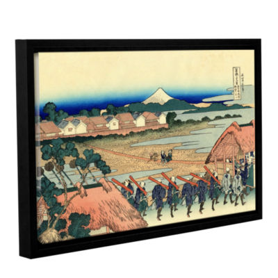 Brushstone Nakahara In The Sagami Province GalleryWrapped Floater-Framed Canvas Wall Art