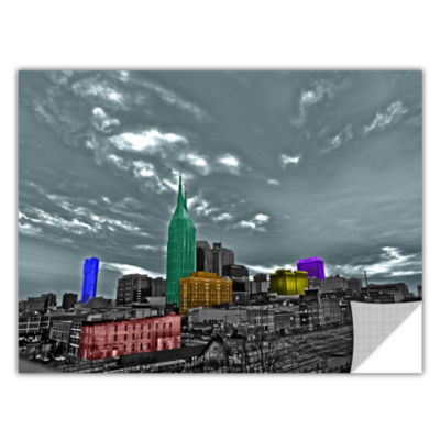 Brushstone Nashville Removable Wall Decal