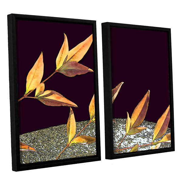 Brushstone Natural World (Fall) 2-pc. Floater Framed Canvas Wall Art