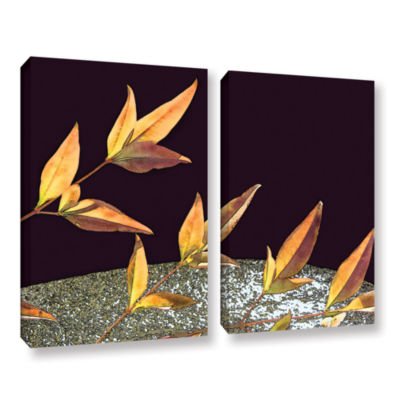 Brushstone Natural World (Fall) 2-pc. Gallery Wrapped Canvas Wall Art