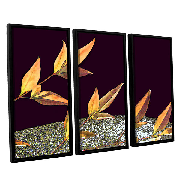 Brushstone Natural World (Fall) 3-pc. Floater Framed Canvas Wall Art
