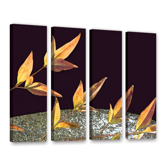 Brushstone Natural World (Fall) 4-pc. Gallery Wrapped Canvas Wall Art