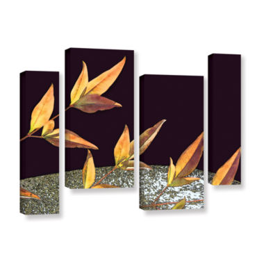 Brushstone Natural World (Fall) 4-pc. Gallery Wrapped Staggered Canvas Wall Art