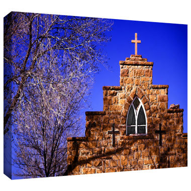 Brushstone Navajo Church Gallery Wrapped Canvas Wall Art
