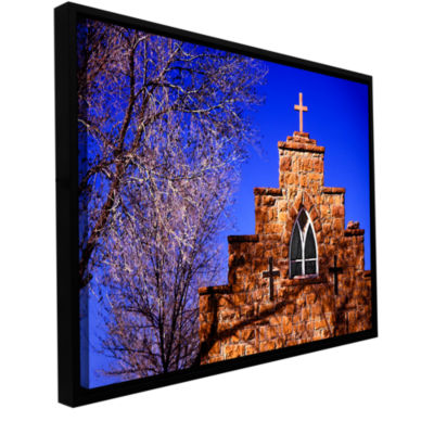 Brushstone Navajo Church Gallery Wrapped Floater-Framed Canvas Wall Art
