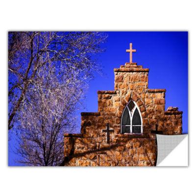 Brushstone Navajo Church Removable Wall Decal